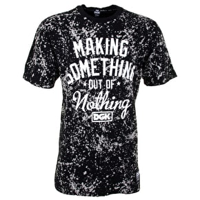 DGK Make Something Pocket T-Shirt - Black Bleach