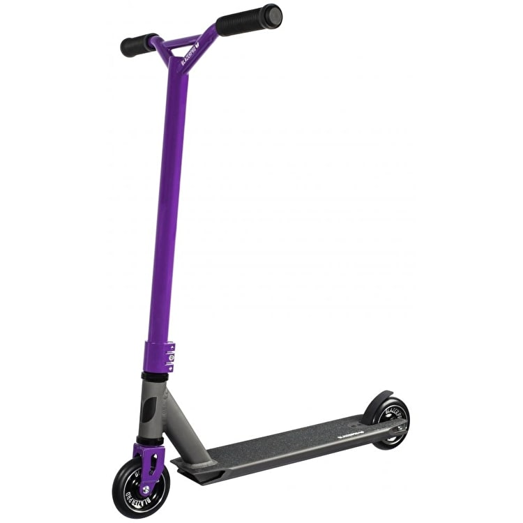 Blazer Pro Evolution Complete Scooter - Anodized Grey/Purple