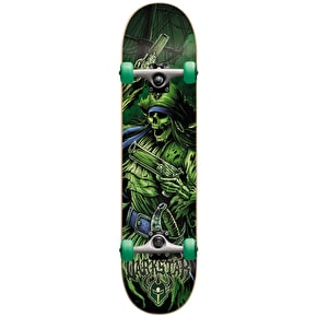 Darkstar Mini Skateboard - Pirate Green 7.25