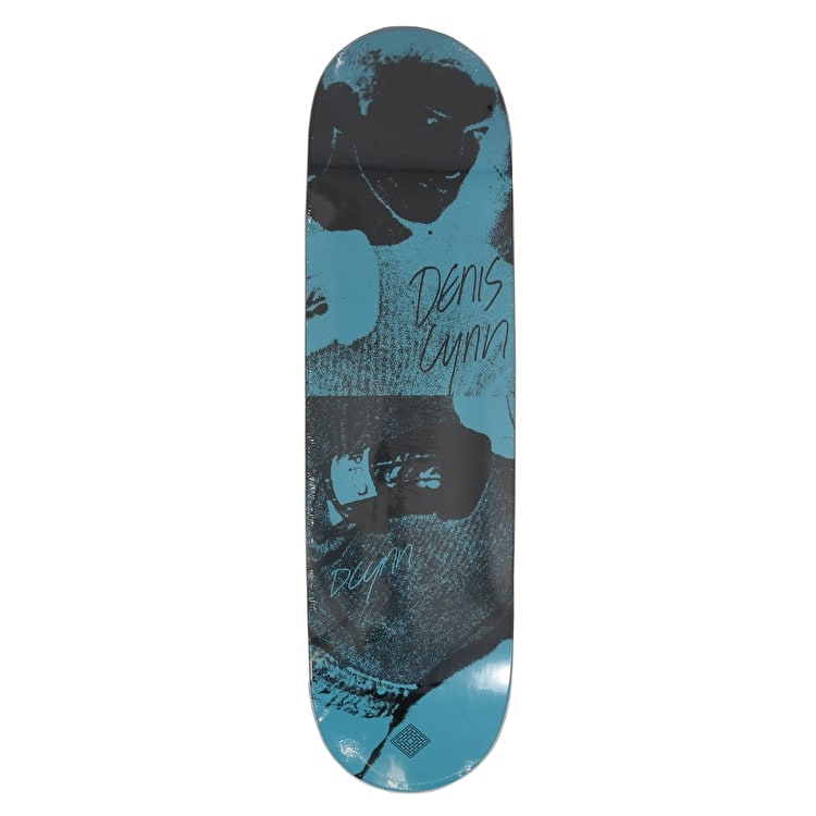 National Skateboard Co Denis Lyn x Catalogue Skateboard Deck - Turquoise 8.5""