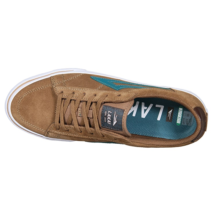 Lakai Ellis Skate Shoes - Walnut Suede