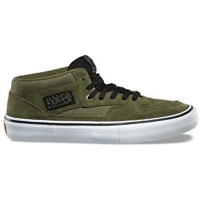 Vans Half Cab Pro Skate Shoes - Winter Moss/Black