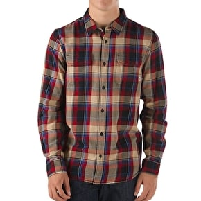 Vans Elm Shirt - Red Dahlia/Black