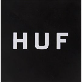 Huf Sticker - Black