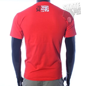 Fox Evanite Superior T-Shirt - Scarlet