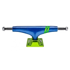 Thunder Hi 147 Lights Skateboard Trucks - Academy Blue/Green 147mm (Pair)