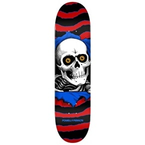 Powell Peralta One Off Ripper Skateboard Deck - Red 7.5