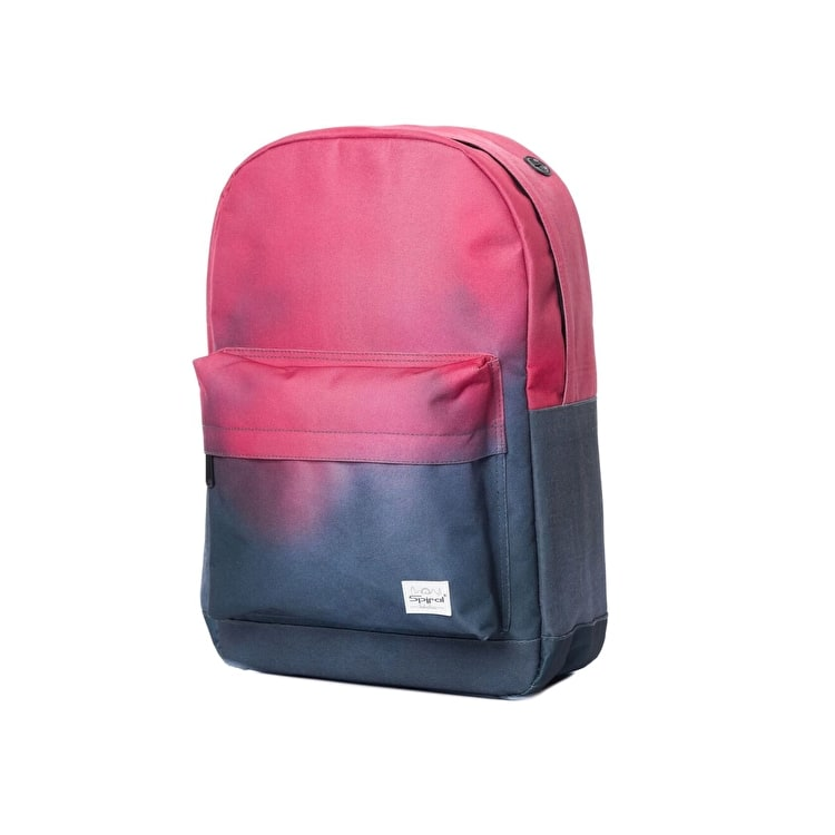 Spiral OG Backpack - Coral-Charcoal Fade