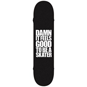 Blind Athletic Skin Complete Skateboard - Grey/Black 8