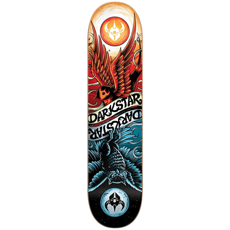 Darkstar Skateboard Deck - Early Bird Red/Blue 8""