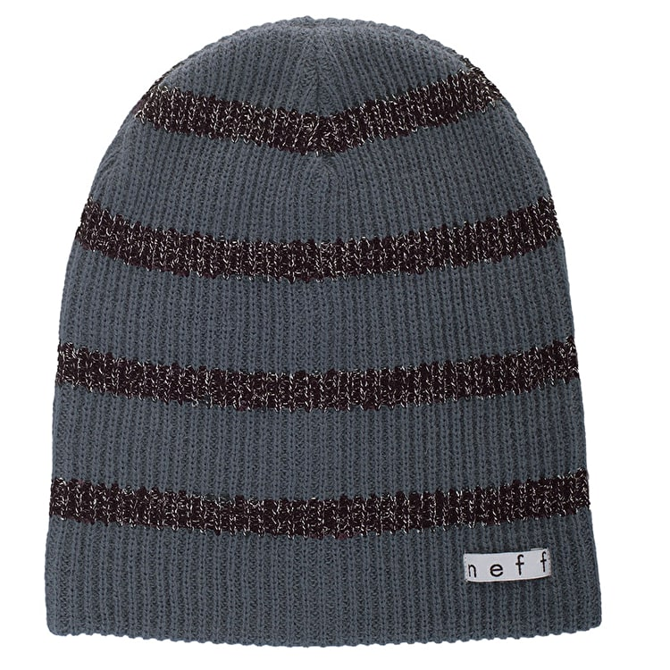 Neff Daily Sparkle Stripe Beanie - Grey