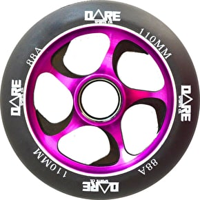 Dare Swift 2 Scooter Wheels - Black/Purple 110mm