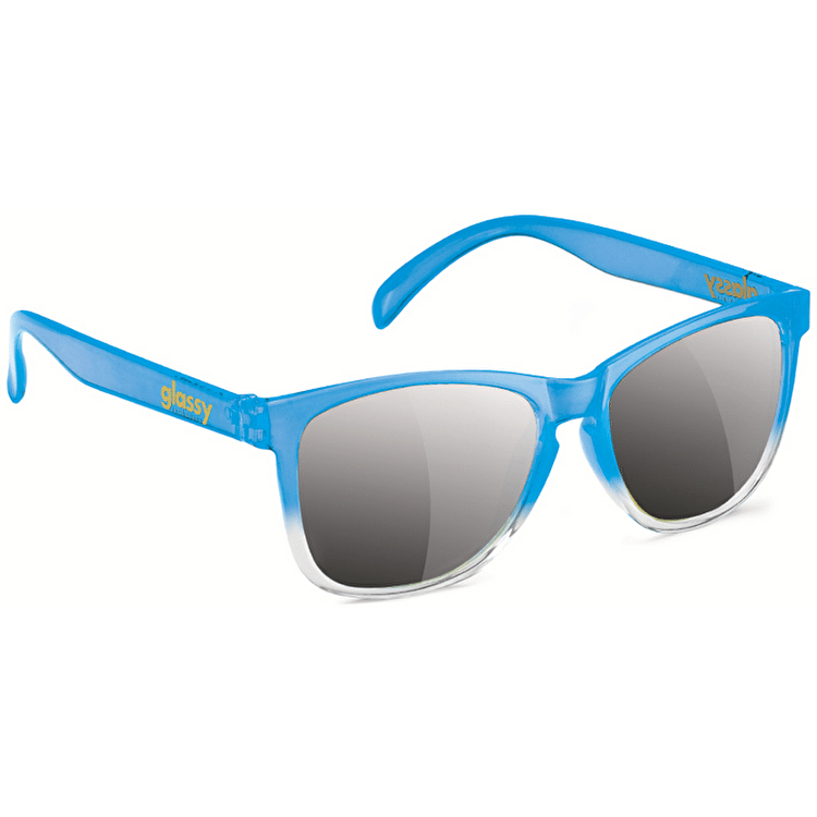 Glassy Sunhaters Deric - Transparent Blue/Silver Mirror