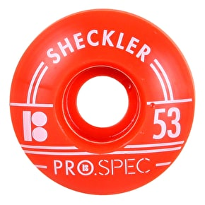 Plan B Skateboard Wheels - Pro Spec Sheckler 53mm (Pack of 4)