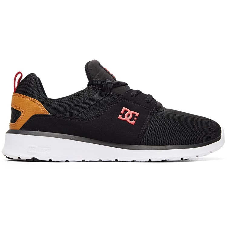 DC Heathrow Skate Shoes - Black/Camel
