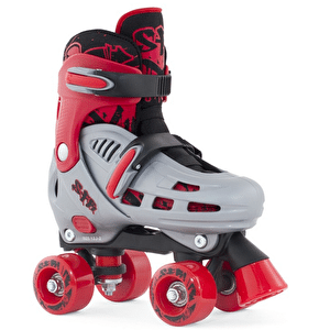 SFR Hurricane Adjustable Quad Skate - Red