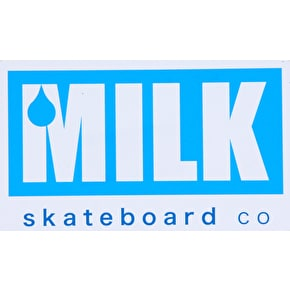 Milk Skateboards Logo Sticker