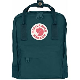 Fjallraven Kanken Mini Backpack - Glacier Green