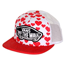 Vans Beach Girl Trucker Womens Cap - Hearts