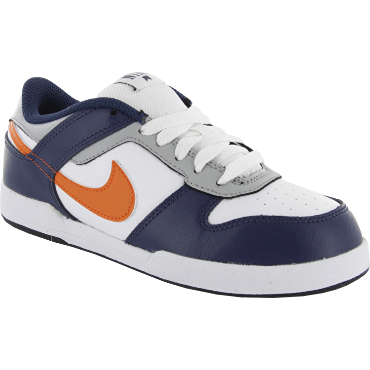 Nike Renzo 2 Kids Skate Shoes - Mid Navy/Urban Orange