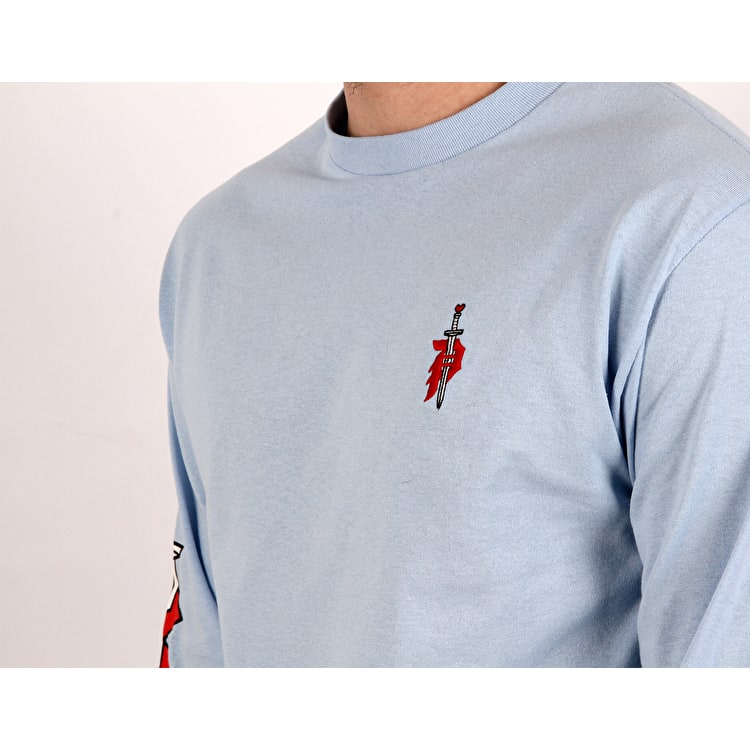 Primitive Outsider Long Sleeve T Shirt - Powder Blue