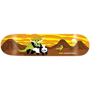Enjoi Skateboard Deck - Horny Impact Light Berry 8