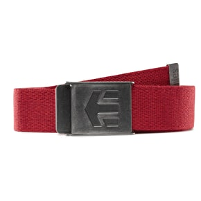 Etnies Staplez Belt - Red/Heather