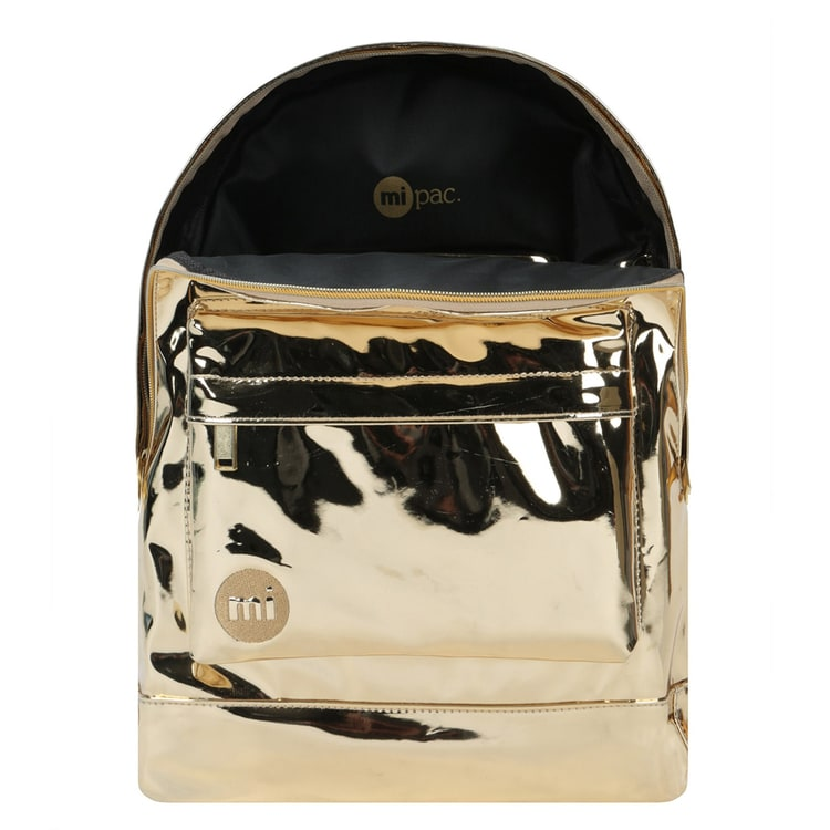 Mi-Pac Mirror Backpack - Gold