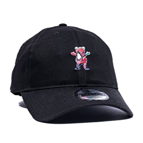 Grizzly x Spiderman Dad Hat - Black