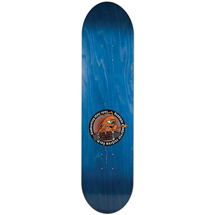 Toy Machine Provost Tract Pro Skateboard Deck - 8""