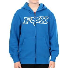 Fox Youth Legacy Zip Hoody - Blue