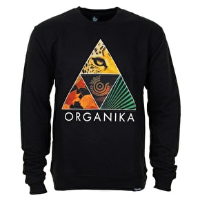 Organika Forms Crew T-Shirt - Black