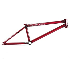 Federal Churchill 2 BMX Frame - Clear Red