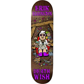 Deathwish Happy Place - Ellington Skateboard Deck 8.125