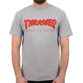 Independent x Thrasher BTG T Shirt - Athletic Heather