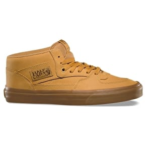 Vans Half Cab Skate Shoes - (Vansbuck) Light Gum/Mono