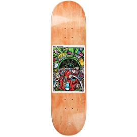 Polar Earth Attack - Boserio Skateboard Deck 8.25