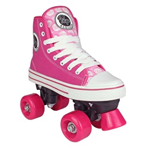 Pop Squad Midtown Quad Roller Skates - Hot Pink