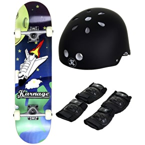 Karnage Spaceship Skateboard Bundle