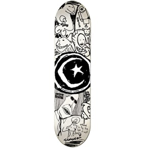 Foundation Skateboard Deck - Star & Moon Sketchbook 8.125