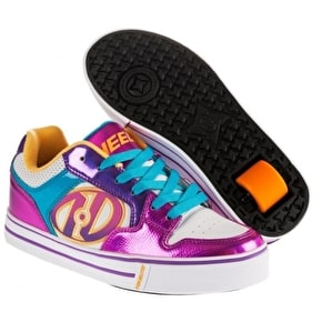 B-Stock Heelys Motion Plus - White/Fuchsia/Multi - Junior UK 13 (Used)