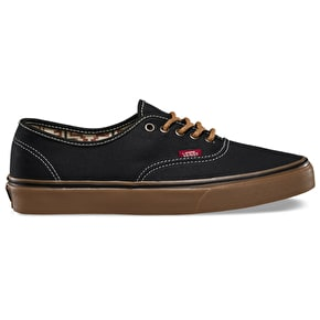 Vans Authentic Shoes - (T&G) Black/Gum