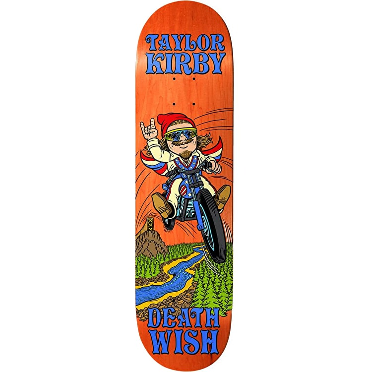 Deathwish Happy Place - Kirby Skateboard Deck 8.25""