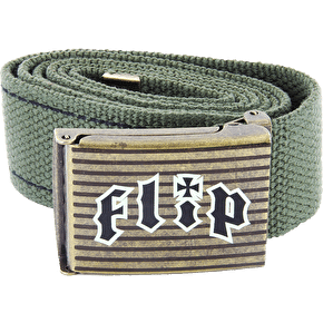 Flip HKD Belt - Green/Bronze