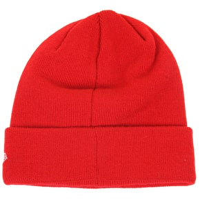 New Era Original Cuff Knit Beanie- Scarlet