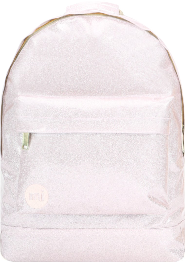 MiPac Glitter Backpack  Champagne