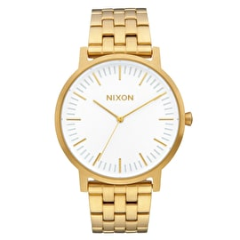 Nixon Porter Watch - All Gold/White Sunray