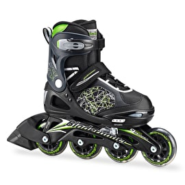 Bladerunner 2017 Phaser Flash Kids Roller Blades - Black/Green
