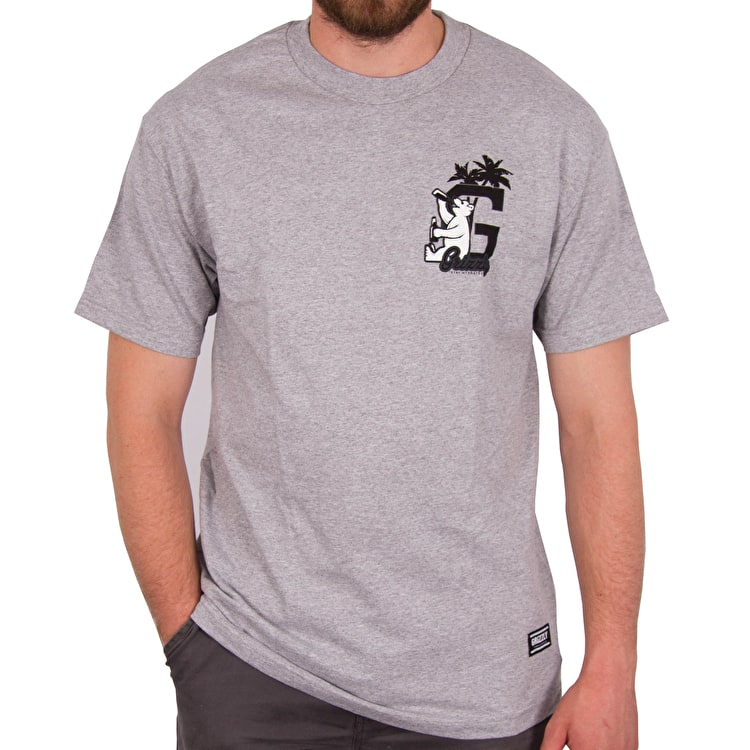 Grizzly Hydrated G T-Shirt - Heather Grey