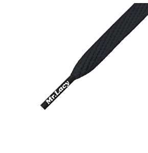 Mr Lacy Shoelaces - Smallies Black